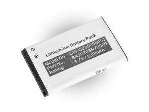 Battery for Creative Zen MicroPhoto Micro Photo 4GB 8GB MP3 Media Player DAA-BA0009 BA20203R79909