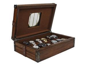Steampunk MacGuffin 12-pc Watch Box (MSRP:$200)