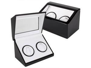 Glen Rock Double-Watch Winder - Black (MSRP:$350)