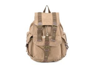 Gootium 21101KA-S Canvas Backpack - Small Size - Khaki