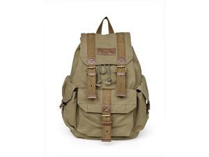 Otium 21101AMG Large Canvas Backpack - Small Size - Army Green