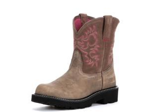Ariat Fatbaby Original Womens Size 7 Brown Full-Grain Leather Western Boots