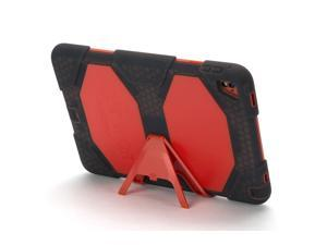 iPad Pro 9.7-inch Rugged Case, Survivor All-Terrain with Stand, Smoke/Red,Mil-spec tested, real-world proven protection.