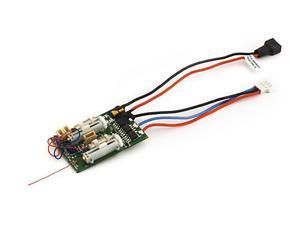 DSM2 6 Ch Ultra Micro AS3X Receiver BL-ESC EFLU4864 E-FLITE