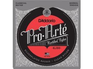 D'Addario EJ30 Classics Rectified Classical Guitar Strings, Normal Tension EJ30 D'ADDARIO