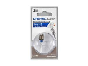 DREMEL EZ402 EZ Lock Mandrel,Use W/Dremel EZ Lock Acc