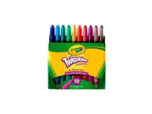 Crayola 52-9715 10CT Twistable Crayons 52-9715