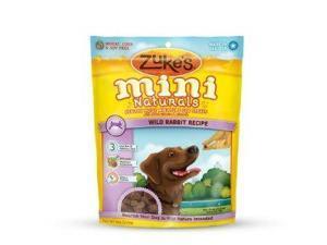Zuke's Mini Naturals Wild Rabbit Formula Dog Treats, 6 Ounce ZUK33056 ZUKES