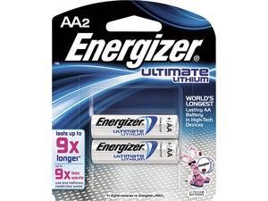Energizer Ultimate Lithium Aa Batteries Qty 2 -