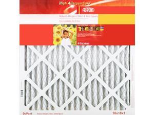 DuPont KB20X22X1A High Allergen Care Electrostatic Air Filter, 20 x 22 x 1 in.