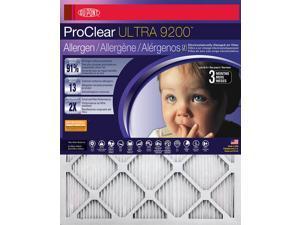 18x18x1 DuPont ProClear Ultimate Allergen Electrostatic Air Filter (4 Pack)