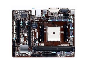 GIGABYTE GA-F2A85XM-DS2 Socket FM2/ AMD A85X/ DDR3/ SATA3&USB3.0/ A&GbE/ MicroATX Motherboard