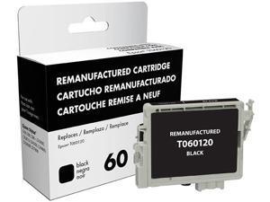 Epson Stylus C68/C88/C88+/CX3800/CX3810/CX4200/CX4800/CX5800F/CX7800 Black Ink (OEM# T060120) (400 Yield)