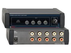 EZ Series Stereo Audio Input Switcher
