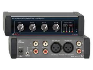 EZ Series Microphone and Stereo Audio Mixer