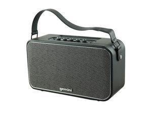 GEmini GTR-400 Portable Bluetooth Speaker Black