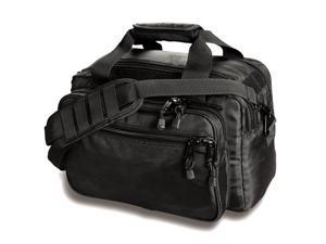 UNCLE MIKE'S 53411 Deluxe Range Bag, 1680D x 1680D Side-Armor, Black, 9 1/2 in