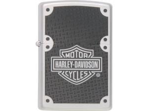 Zippo ZOZO24025 Harley-Davidson Lighter Harley Carbon Fiber Satin Chrome Wo