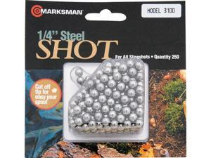 "Marksman MA3100 Hunting Shot 1/4"" Diameter Steel Ammo (250 Count)"