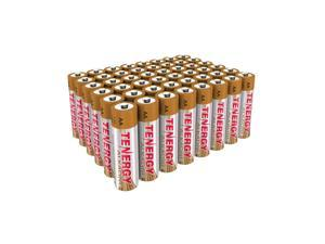 Combo: 48 pcs Tenergy Alkaline AA Batteries