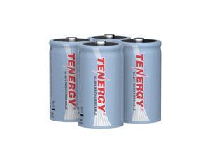 Combo: 4pcs Tenergy D 10000mAh NiMH Rechargeable Batteries