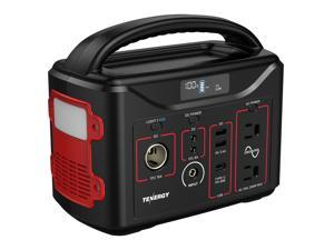 Tenergy T320 Portable Power Station, 300Wh Backup Lithium Battery, ideal for emergencies, outdoor camping, rvs, Solar Generators