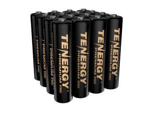 Tenergy Premium PRO Rechargeable AAA Batteries, High Capacity 1100mAh NiMH AAA Battery, 16 Pack Rechargeable Batteries