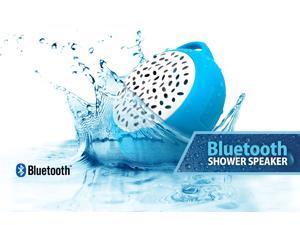 Propel Wireless Bluetooth Waterproof Shower Speaker with Built-in Microphone