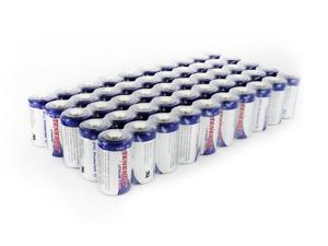 Tenergy Propel CR2 3V Lithium Battery with PTC Protected, 50 pieces
