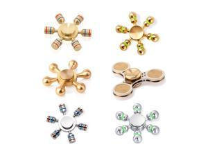 Premium Fidget Spinners - Collections Bundle : 6 Spinners Total