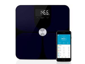 Tenergy Vitalis Digital Weight Scale, High Precision Smart APP Scale, Wireless Bluetooth Body Scale with Large LCD Display, ITO BIA Technology, Max Weight 400 LBS, APP Support iOS & Android Device
