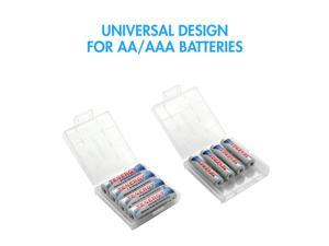 Tenergy Plastic Box Holder for 4 AA Battery (Batteries sold separately)