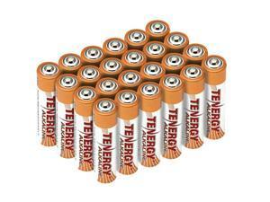 1 Box: 24pcs Tenergy AAA Size (LR03) Alkaline Batteries