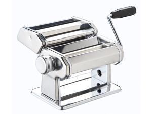 """Manual 6"""" Pro Grade Pasta,Spaghetti, Fettuccine, Linguine Maker Stainless Steel"""