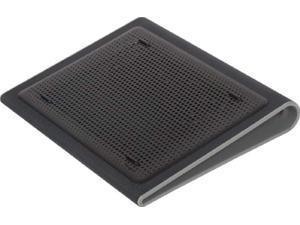 targus lap chill mat for laptop, black/gray (awe55us)