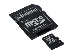 Class 4 Professional Kingston 16GB MicroSDHC Card for Panasonic ToughBook 19 with custom formatting and Standard SD Adapter!