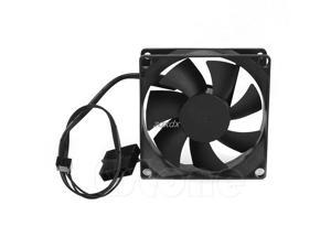 Hydro Bearing 7 Plastic Blades 4 Pin 12V DC 80x80x25mm Compuer Fan Cooler Brushless Cooling Blower Fan For Computer Z09