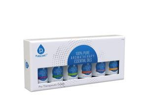 Pursonic EO6PK Pure Essential Aromatherapy Oils - Pack of 6
