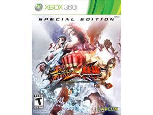 street fighter x tekken: special edition -xbox 360