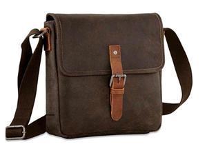 9874c4ef8d78 Jack Georges Dakota Crossbody Messenger Brown Distressed Buffalo Leather Bag