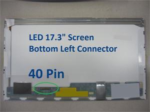 AU OPTRONICS B173RW01 V.0 Laptop Screen 17.3 LED BOTTOM LEFT WXGA++