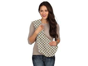 49191e7497b Karma White with Golden Dot Soft Carrier Baby Sling ...