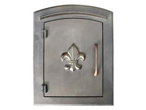 Decorative Door Column Mount Mailbox in Bronze