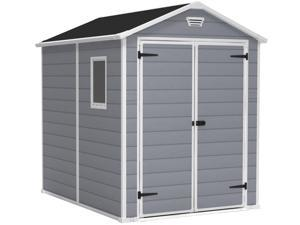 73.1 in. Outdoor Storage Shed
