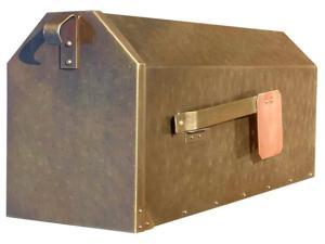 Rural Mailbox (Smooth Polished Brass)