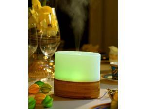 Sunpentown Ultrasonic Aroma Diffuser/Humidifier with Bamboo Base (Oval) SA-070