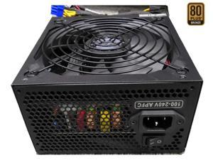 TOPOWER TOP-600D 600W EPS12V / ATX12V SLI Ready CrossFire Ready 80 PLUS BRONZE Certified Active PFC Power Supply