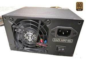 TOPOWER TOP-400W 400W ATX12V / EPS12V 80 PLUS BRONZE Certified Active PFC Power Supply With 80mm Fan