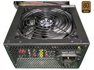 TOPOWER TOP-500D 500W EPS12V / ATX12V SLI Ready CrossFire Ready 80 PLUS BRONZE Certified Active PFC Power Supply