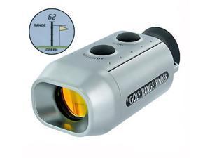 New Digital 7x Golf Range Finder Golfscope Scope Yards Measure Distance + bag #2
